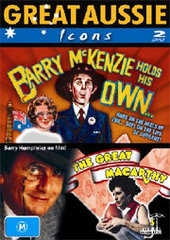 Great Aussie Icons - Barry McKenzie Holds His Own / Great Macarthy (2 Disc Set) on DVD