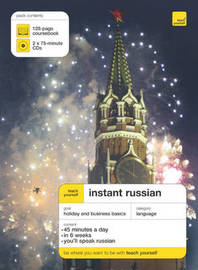 Teach Yourself Instant Russian by Elisabeth Smith image