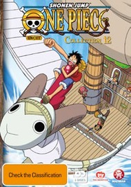 One Piece (Uncut) Collection 12 - Episodes 144-156 on DVD
