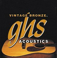 GHS Light 12-54 Vintage Bronze 85/15 - Acoustic Guitar Strings