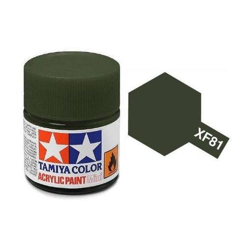Tamiya Acrylic: Dark Green 2 RAF (XF81)