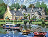 Paint by Numbers - Tranquil Waters image
