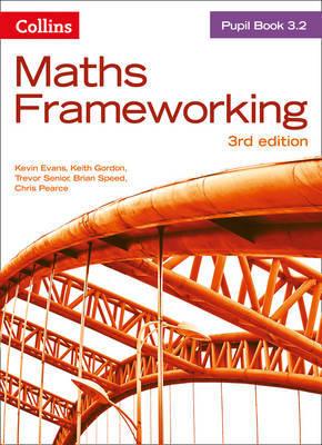 KS3 Maths Pupil Book 3.2 by Kevin Evans image
