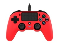 Nacon PS4 Wired Gaming Controller - Red for PS4