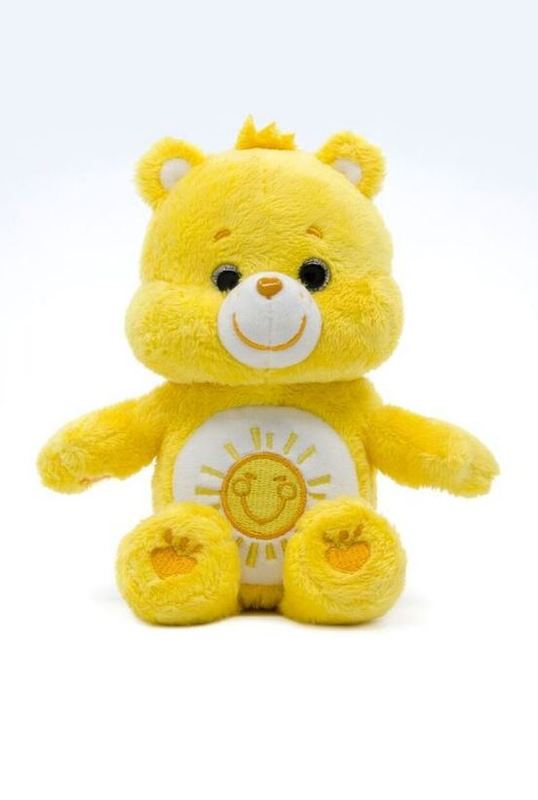Care Bears: Funshine Bear - Small Beanie Plush
