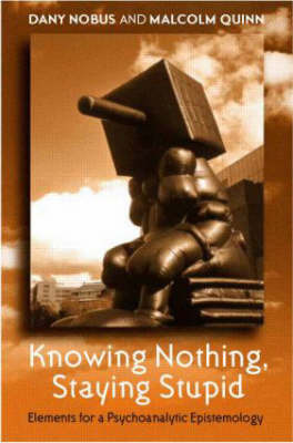 Knowing Nothing, Staying Stupid by Dany Nobus image
