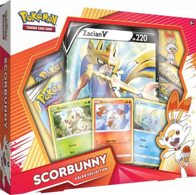 Pokemon TCG: Scorbunny Zacian V