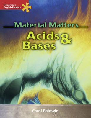 Heinemann English Readers Advanced Science: Acids and Bases by Carol Baldwin image