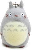 Studio Ghibli - Grey Totoro Flocked Key Chain