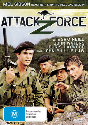 Attack Force Z on DVD image