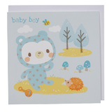 Tiger Tribe: House of Cards - Baby Boy Greeting Card