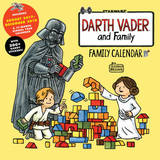 Darth Vader and Family 2018 Wall Calendar by Jeffrey Brown