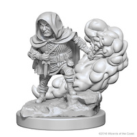 D&D Nolzur's Marvelous: Unpainted Minis - Halfling Male Rogue