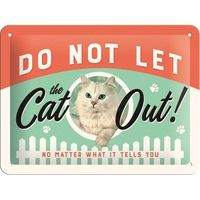 Nostalgic Art Tin Sign - Do Not Let the Cat Out