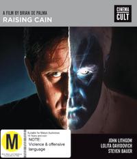 Raising Cain on Blu-ray