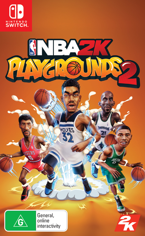 NBA 2K Playgrounds 2 for Switch