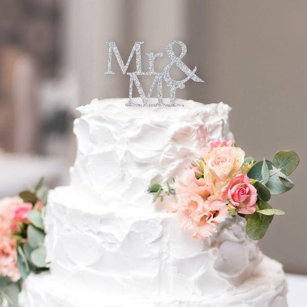 Wedding Cake Topper - Mr & Mr