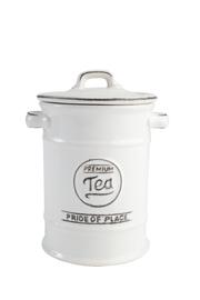 T&G Pride of Place Tea Jar (White)