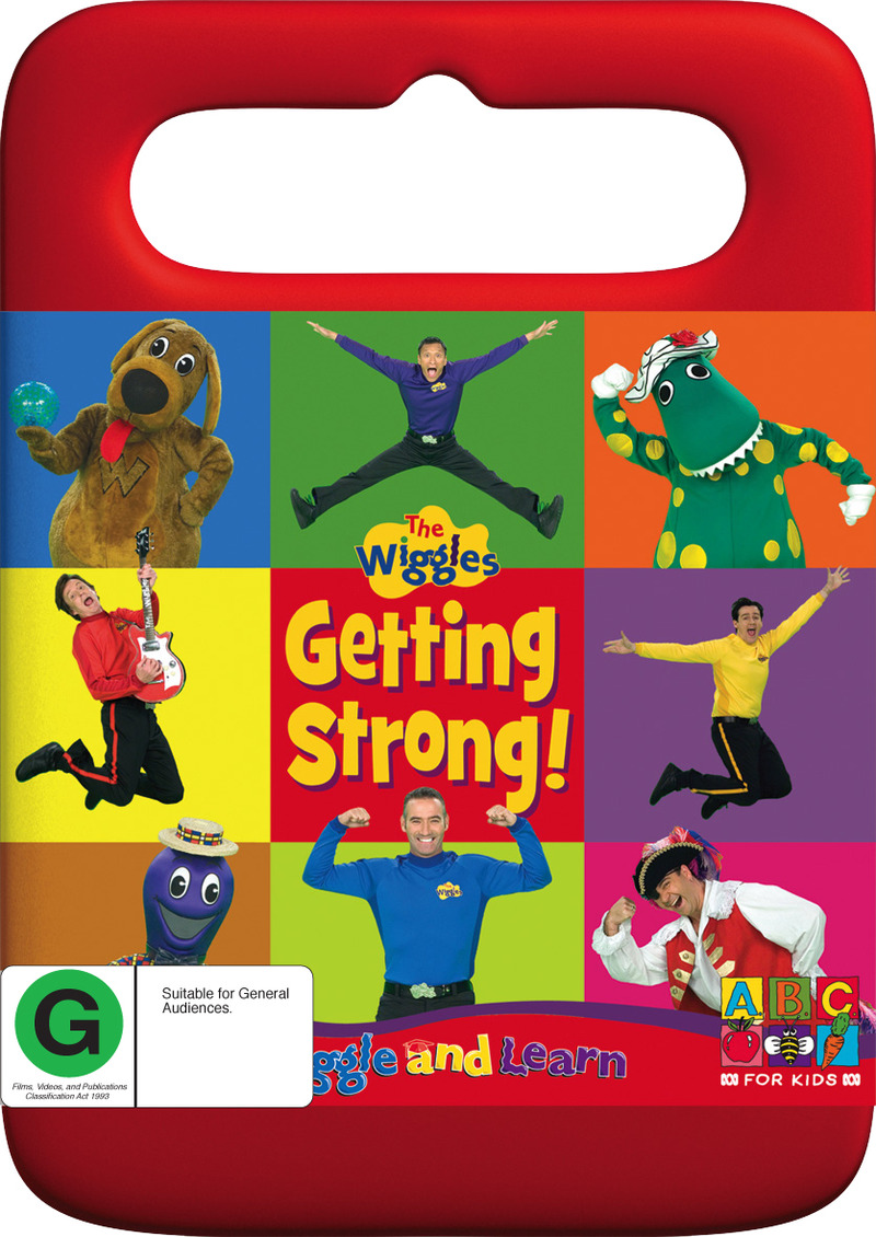 Wiggle and Learn - Getting Strong on DVD image