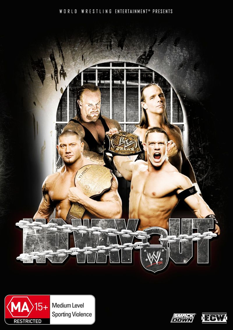 WWE - No Way Out 2007 on DVD image