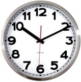 Karlsson White Wall Clock with Numbers - 29cm