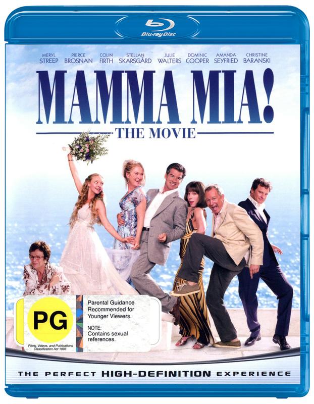 Mamma Mia!: The Movie on Blu-ray