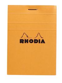 Bloc A7 80 5x5 Graph Sheets (Orange)