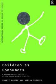 Children as Consumers by Barrie Gunter image