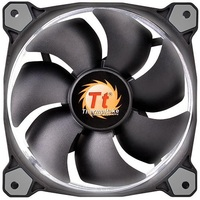 140mm ThermalTake Riing 14 Radiator Fan - White LED