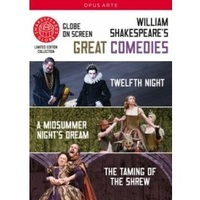 Great Comedies: Twelfth Night/ A Midsummer Night's Dream/ The Taming of the Shrew on DVD