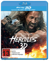 Hercules on Blu-ray, 3D Blu-ray