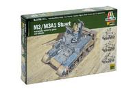 Italeri 1:56 M3 Stuart Model Kit