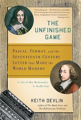 The Unfinished Game by Keith Devlin image