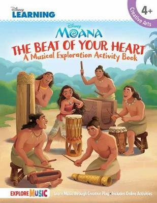 Moana: A Musical Exploration Activity Book by Disney Learning