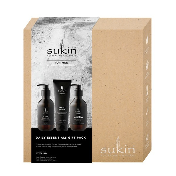 Sukin Men's Daily Essentials Gift Pack