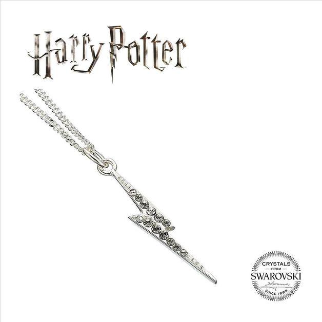 The Carat Shop: Harry Potter Embellished with Swarovski® Crystals Lightning Bolt Necklace