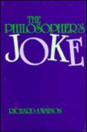 The Philosopher's Joke by Richard A Watson image