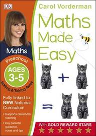 Maths Made Easy Adding and Taking Away Ages 3-5 Preschool Key Stage 0 by Carol Vorderman