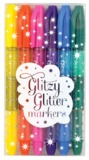 International Arrivals: Glitter Markers - Set of 6