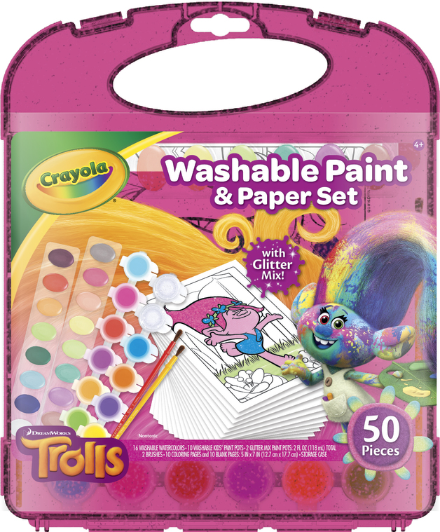 7586f0d7a Crayola Washable Kids Paint Set Of 10 Creative Toys & Activities