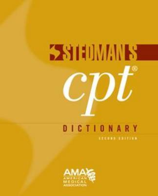 Stedman's CPT(R) Dictionary by American Medical Association image