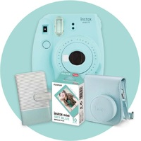 Instax Mini 9 Gift Pack - Ice Blue image