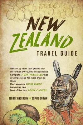 New Zealand Travel Guide by Sophie Brown image