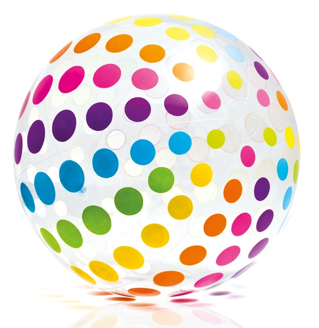 "Intex: 31"" Jumbo Ball - Dots"