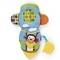Skip Hop Bandana Buddies Puppet Book - Monkey image