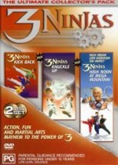 3 Ninjas Ultimate Set on DVD