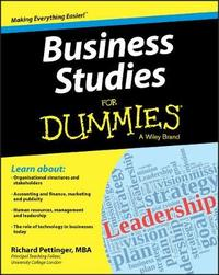 Business Studies for Dummies by Dummies Press Family