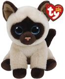 Ty Beanie Babies: Jaden Siamese Cat - Small Plush