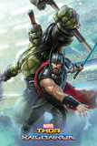 Thor Ragnarok: Thor And Hulk - Maxi Poster (673)