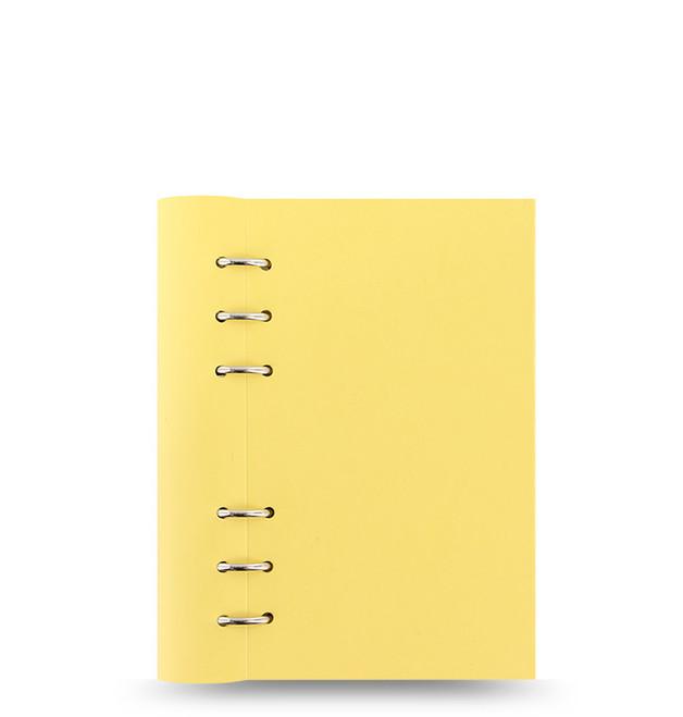 Filofax - Personal Pastels Clipbook - Lemon